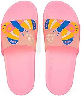 Parrot Slipper Flip Flop Rubber Pink Multi color Size WoFor Men