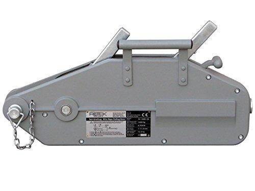 Rotek Seilzug SZ-1600, Kapazität 1.600kg inkl. 40m Spezialseil auf Haspel