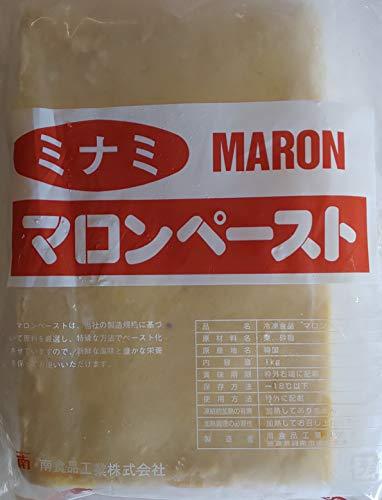韓国産 マロン ペースト 栗 1kg×10P 加糖 冷凍 業務用