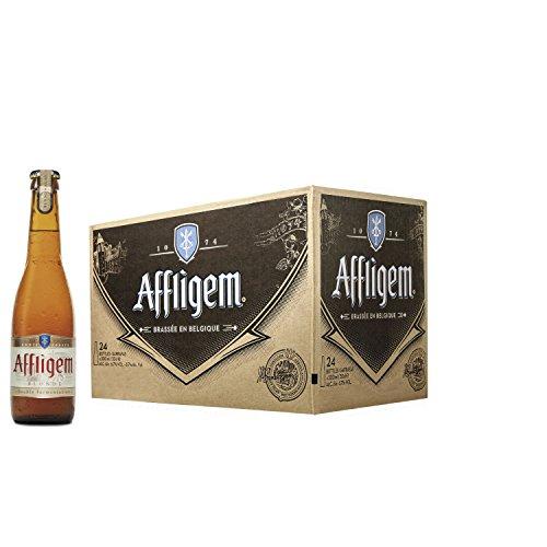 Affligem Blond Cerveza - Caja de 24 Botellas x 300 ml - Total: 7.20 L