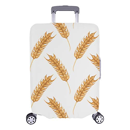 Luggage Hard Cover Agriculture Crops Rice Wheat Durable Washable Protecor Cover Fits 28.5 X 20.5 Inch Kid Luggage Cover Best Luggage Cover Hard Cover Baggage