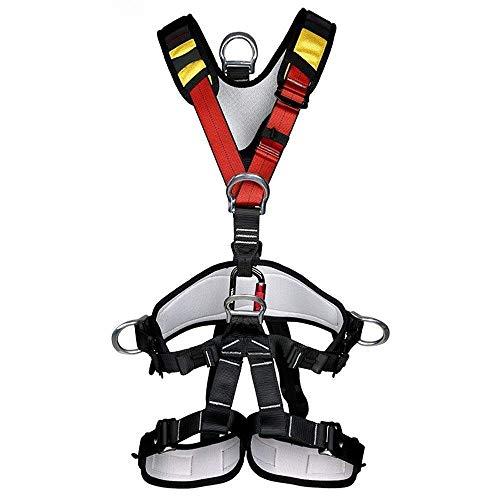 Mehrzweck Klettergurt Taille Hüfte Schutz Gürtel für Bergsteigen Baumklettern.