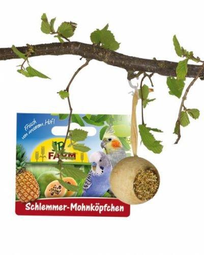JR-Farm Bird Schlemmer-Mohnköpfchen 75g