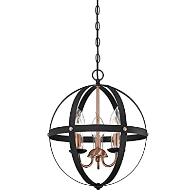Westinghouse Lighting 6339000 Stella Mira Six-Light Outdoor Chandelier Oil Rubbed Bronze.
