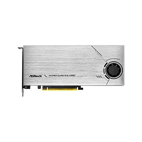 ASRock Hyper Quad M.2 PCIE GEN4X16 NVME 4XM.2 64GB/S