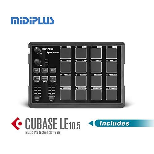 xPAD USB MIDI drum pad controller with Cubase LE