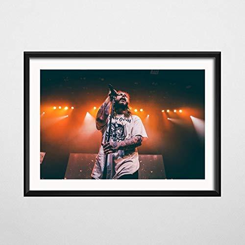 neivy Rap Musik Star Sänger DIY 5D Diamond Gemälde von Number Kit für Erwachsene Kinder Kunst, Full Diamond Zubehör Strass Dekoration Home (Quadrat 40X60cm)