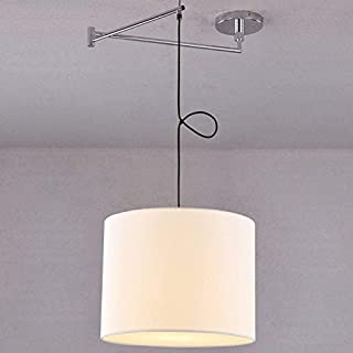 Amazon.es: lampara de techo de tela