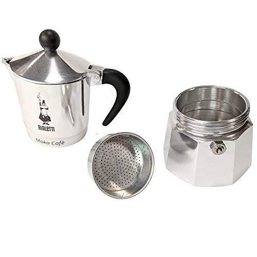Bialetti Break para Cafetera Espresso 3 Tazas, Aluminio, Negro ...