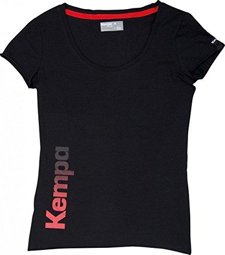 Kempa Damen T Shirt Statement, Schwarz, M