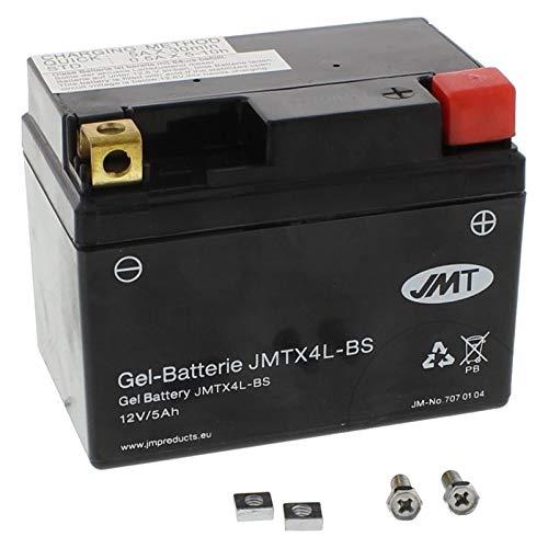 Preisvergleich Produktbild YTX4L-BS JMT Gel Batterie für EXC-E 300 2T Sixdays Baujahr 2009-2013