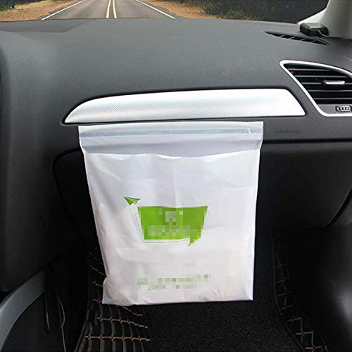 Car Trash Bag Disposable Garbage Bags Portable Rubbish Bag Best Can Bin Container For Auto Vehicle Office Kitchen Bathroom Study Room