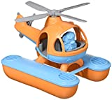 Green Toys Seacopter, Orange/Blue CB - Pretend Play, Motor Skills, Kids Bath Toy Floating Vehicle. No BPA, phthalates, PVC. Dishwasher Safe, Recycled Plastic, Made in USA.