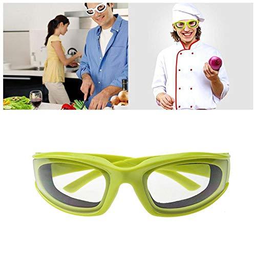 LIANA IRWIN Gafas de protección especiales para la cocina, adecuadas para cortar cebollas, evitar salpicaduras de aceite caliente, protección ocular.