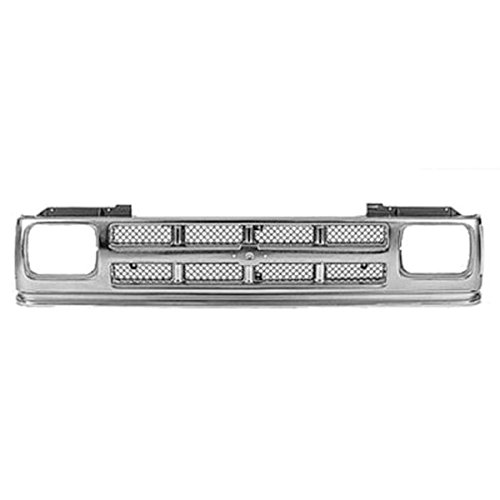 Koolzap For 91-94 Chevy S-10 Pickup Truck Grill Grille Assembly Chrome GM1200326 15701945