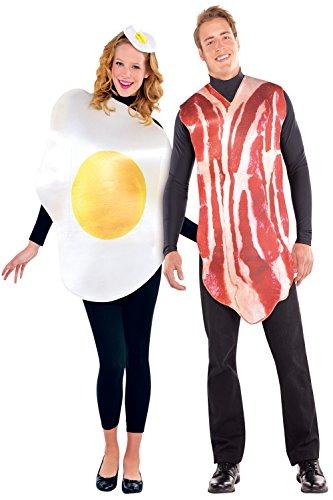 Unisex Hombre Mujer Breakfast Amigos Disfraz para Huevos & Bacon disfraz