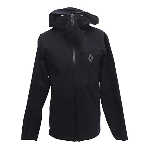 Black Diamond Fineline Stretch Rain Shell Jacket - Men's Black X-Large