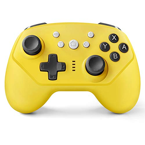 Ashey Joysticks de Juego inalámbricos Bluetooth, Controlador PS3 PS4 Controlador de Interruptor de Mango de 6 Ejes, para Nintendo iPhone Xiaomi Android