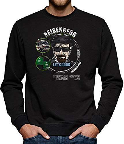Heisenberg - Lets Cook Sweatshirt Pullover Herren XXL Schwarz