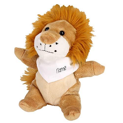 Striefchen® Kuschel-Löwe mit Namen des Kindes auf dem Halsband