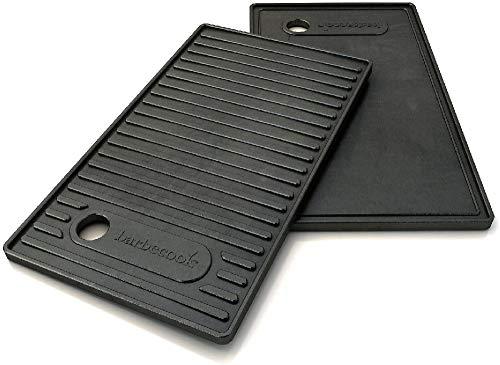 barbecook 2230232442 Contact Plate Utensili per Barbecue, Nero, 42x2x24 cm