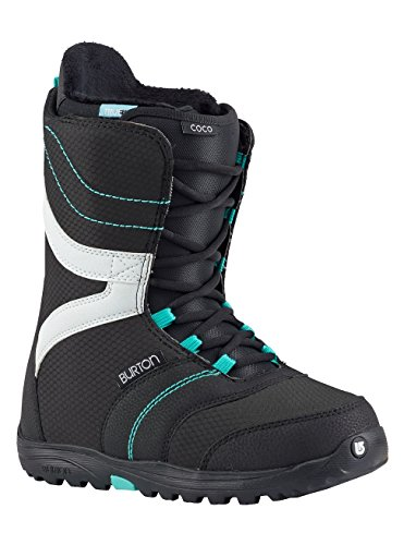 Burton Damen Coco Snowboardboots, Black/Teal, 6.0