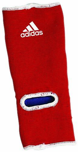 adidas Fußschützer Kickboxen Ankle Pad, Blau/Rot, One Size