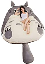 My Neighbor Totoro Tatami Mattress Sleeping Bed Double Adult and Kids Beanbag Sofa Bed Soft Cartoon for Lovely Creative Do...