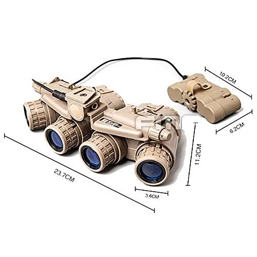 FMA Airsoft Quad Night Vision Brille GPNVG 18 Erfahrungen & Preisvergleich
