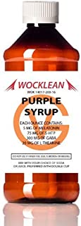 Wocklean Purple Relaxation Syrup (16oz)
