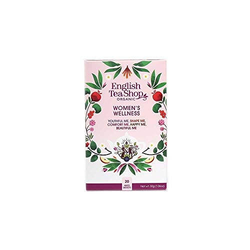 English Tea Shop Women's Wellness Tea Bag Sachets, 20-Piece