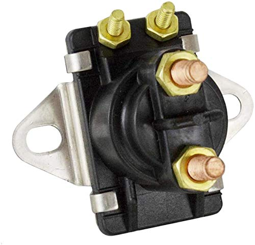 Solarhome Trim Solenoid Relay Switch Fit for Mercury Mercruiser Marine 12 Volt 4 Terminal 35-150HP 89-846070 89-94318 89-96158T