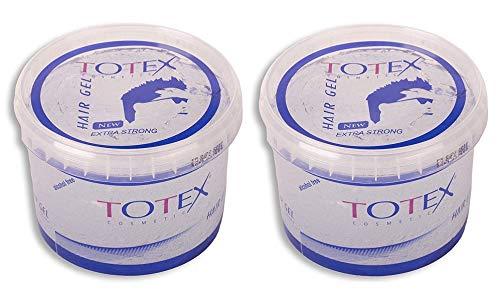 TOTEX 2x Hair Gel Extra Strong 750 ml 2er Set (1500ml)