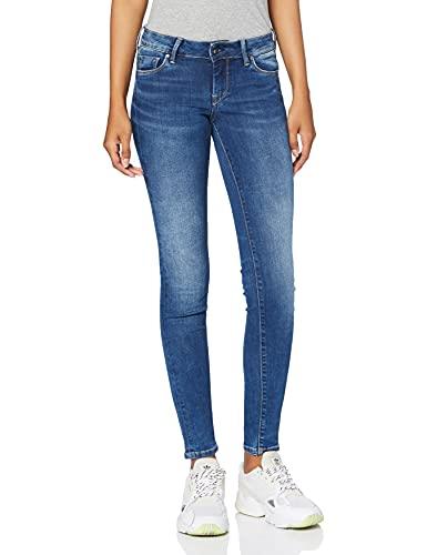 Pepe Jeans Soho Jeans, Azul (Dark Used Worn H45), 34W / 30L para Mujer
