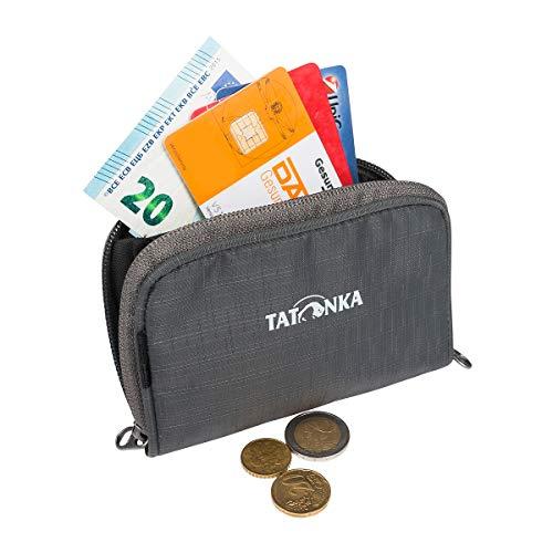 Tatonka Big Plain Wallet Portefeuille avec Plusieurs emplacements pour Cartes et Poche pour Monnaie 13 x 9 x 2 cm, Mixte - Adulte, 2896, Gris Titane, 13 x 9 x 2 cm