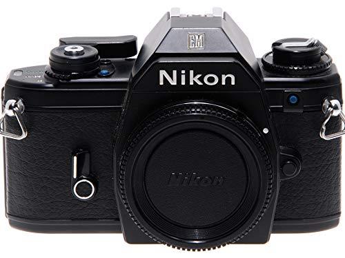 Nikon EM Negra Cámara réflex A película con Obturador electromecánico.
