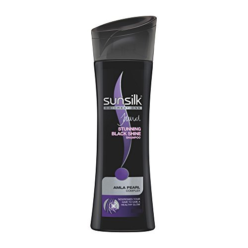 Sunsilk Schwarz Shine Shampoo, 180ml (Pack of 2)