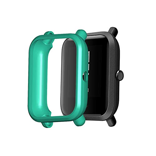 Oyria Tup Case Smart Watch Funda Protectora Compatible con Amazfit Bip/Amazfit Bip S/Bip 1S / Amazfit Bip Lite/bip Lite 1s / Amazfit A1608 Carcasa Protectora antiarañazos