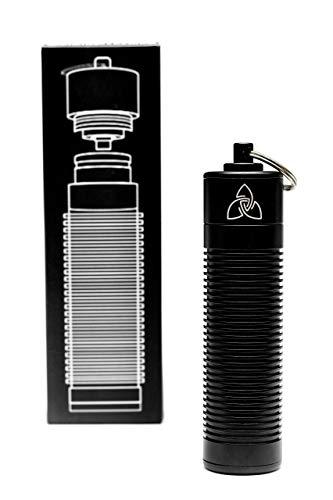 ZEN Vaporizers Micro-USB Ladeadapter Ladegerät 18650 Akkus inklusive 18650 Akku und Akkufach geeignet für Akkuträger e-Zigarette Ladestation Batterie Transport Behälter