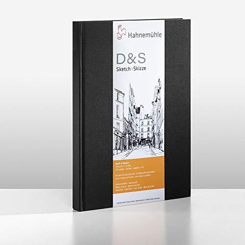 Hahnemühle 10628272 Geschäftsbücher, Registerbücher, Notizbücher Uws plus Normal Skizzenbuch 140 g 96 Blatt