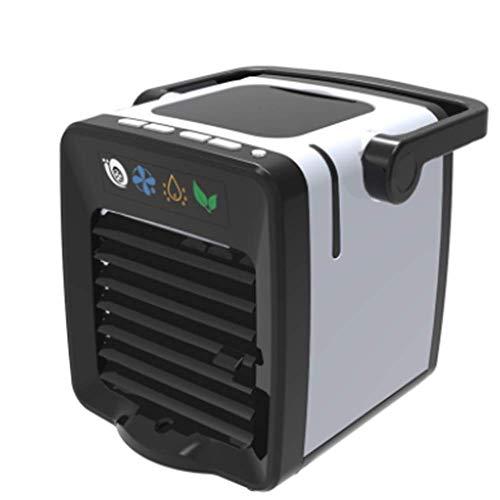 Refrigerador de aire de 1 pieza, Ventilador de aire acondicionado de carga USB, Mini refrigerador portátil refrigerador de aire Nano Fan, disfrute de fresco Verano, Aire limpio, Esquina de lectura, Tr