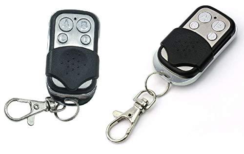 2 piezas de mandos a distancia adicionales para tarjeta cuadrada centralita de control de persianas, persianas de automatización Saracinesa