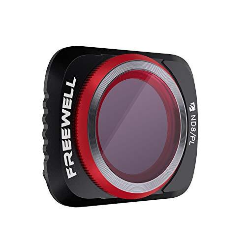 Freewell ND8/PL Hybrid-Kameraobjektiv Filter Kompatibel mit Mavic Air 2 Drone
