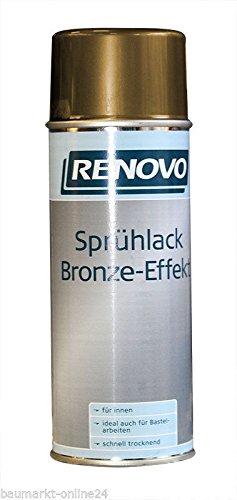 Sprühlack Gold RAL 0300 Bronze-Effekt 400 ml Renovo
