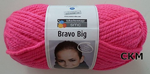 Schachenmayr Bravo Big, 200g, Fb. 08234 neon pink, Herbst/Winter 2013/14, Strickwolle