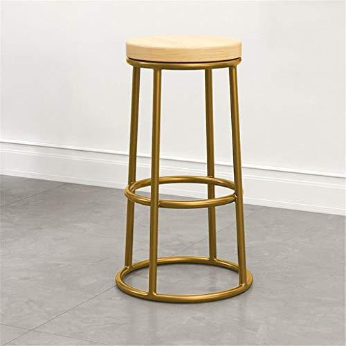 Tuqia Meubel barkrukken Nordic dining Chair Hotel Restaurant Chair Hocker Industriële drank Shop-Lounge Chair Round Schemel met pedaal woonkamermeubels stoelen
