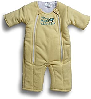 Baby Merlin's Magic Sleepsuit - Swaddle Transition Product - Microfleece - Yellow - 6-9 Months