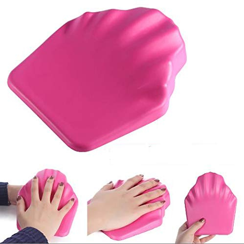 Nail Art Hand Cushion, Nail Art Hand Pillow Mat Soft Anti Skid Holder Arm Rest Manucure Tool Nail Art Table Mat Proffessinal Manicure Tool for Salon or Home Use