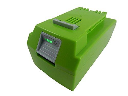 vhbw Li-Ion Akku 4000mAh (24V) für Elektro Werkzeug Greenworks 10-Inch Cordless Chainsaw 20362, 130MPH Cordless G24 Sweeper wie 29322, 29807.