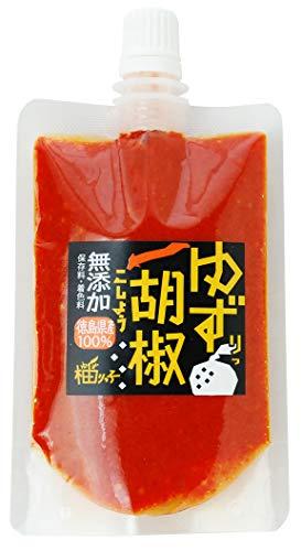 [柚りっ子] 柚子胡椒 赤ゆずりっ胡椒 チューブ 80g